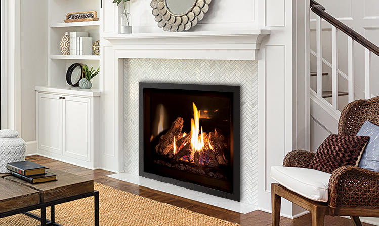 Fireplace Gas Fireplace Cost To Convert High Efficiency Wood Enviro | Products | Gas | Q3 Gas Fireplace