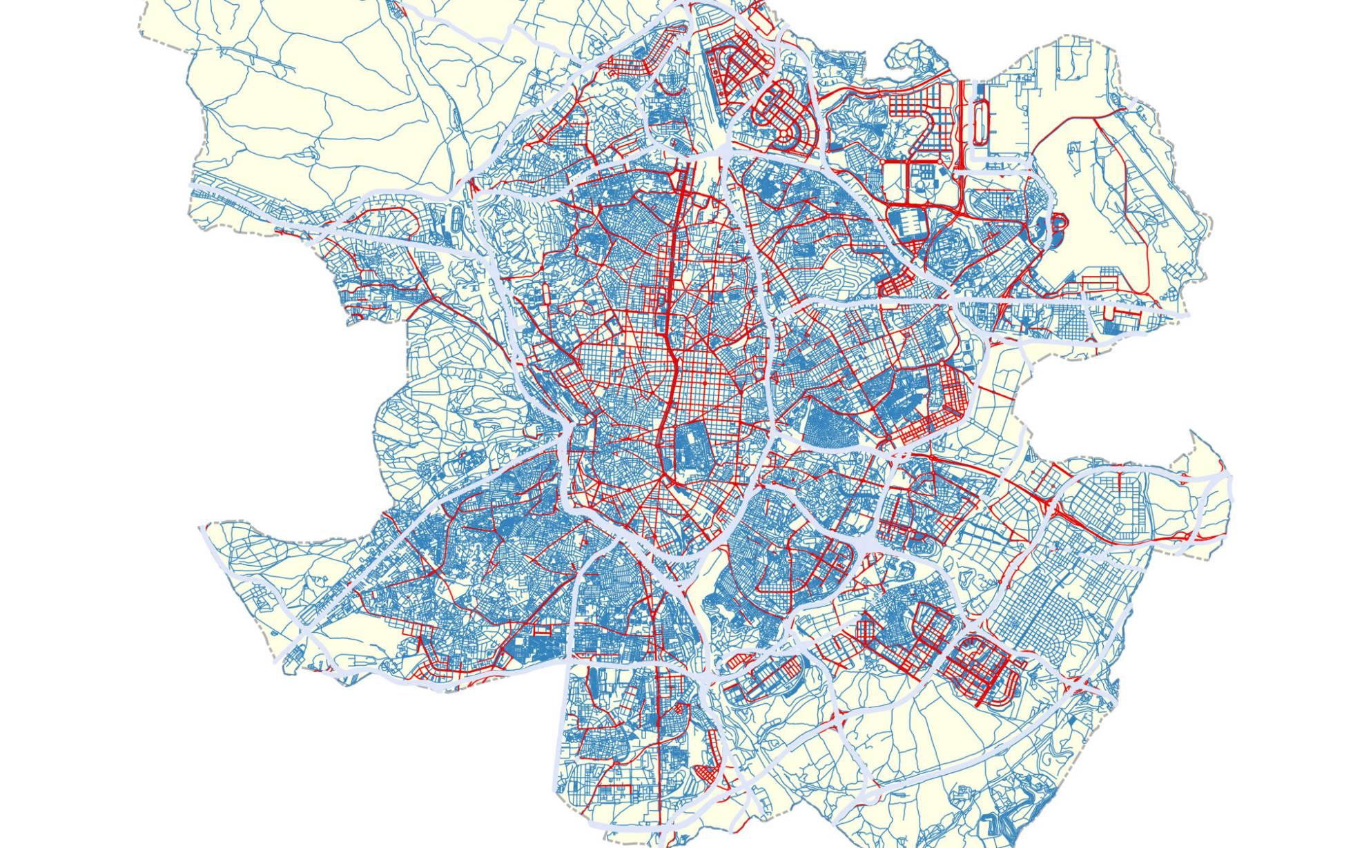 Estas Son Todas Las Calles De Madrid Que Estaran Limitadas A 30 Km