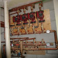 Hydronic heating controls