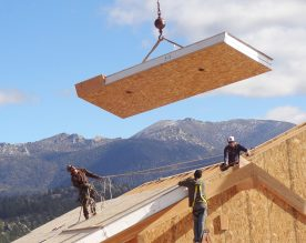 Structural Insulated Panel (SIPs) construction