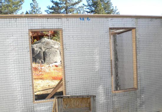 Window buck detail