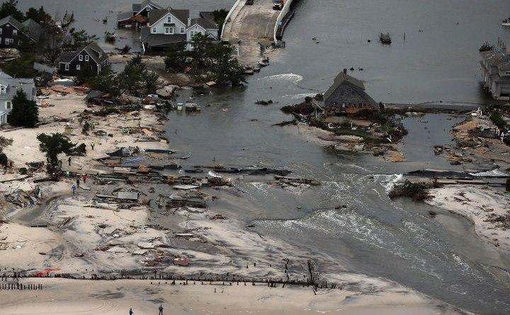 """Can New Jersey Marshes just """"Fuhgettabout"""" Superstorm Sandy?"""