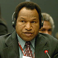 The representative from Papua New Guinea to COP11