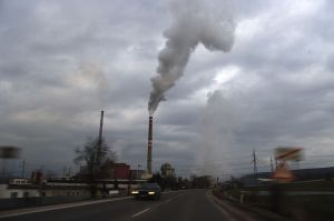 Emissions Sources include cars and power plants.