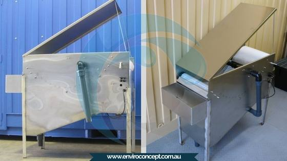 continuous media system, suspended solids