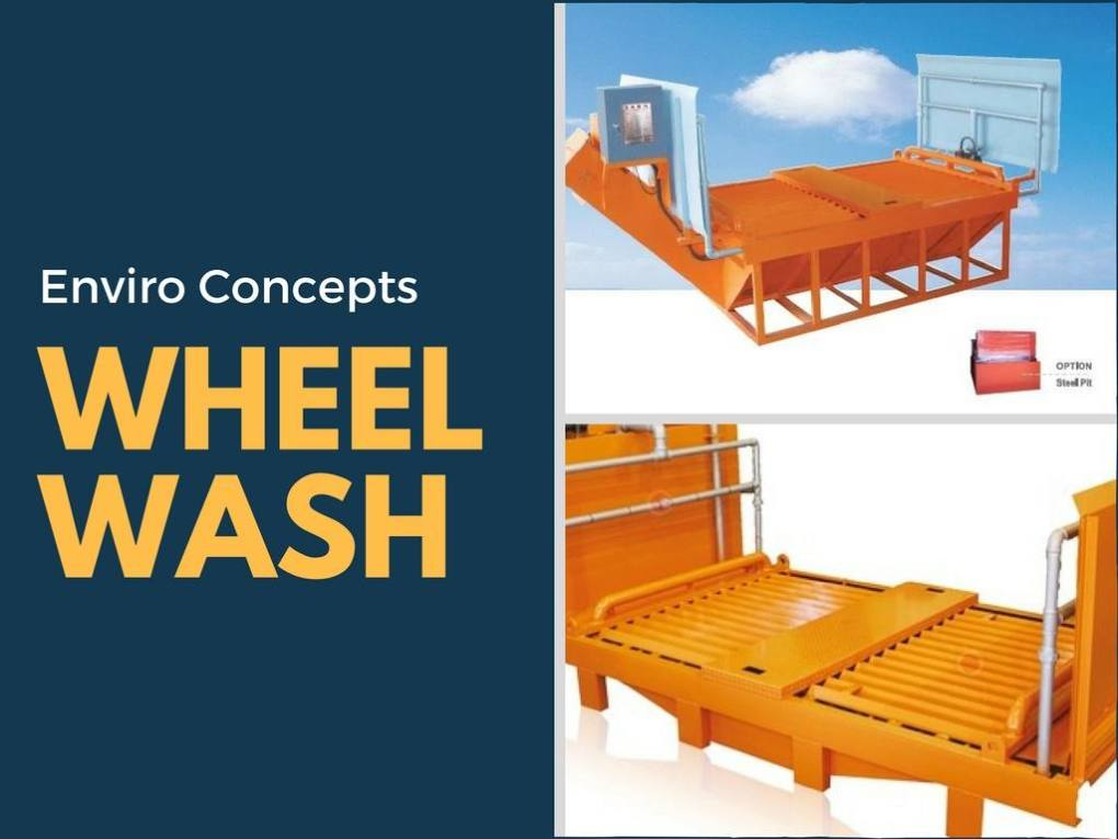 Enviro Concepts, Portable Wheel Wash