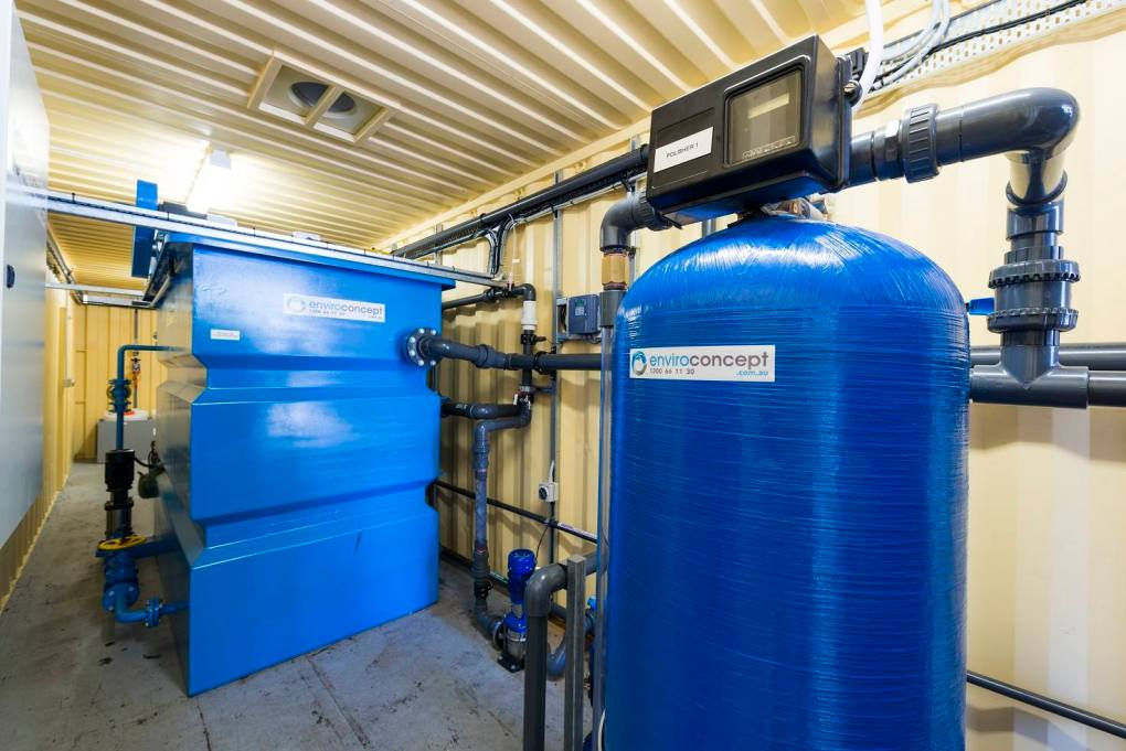 recycling plant, effluent water treatment