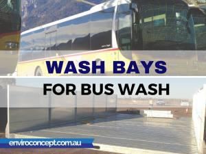 bus wash, wash bay, enviroconcepts