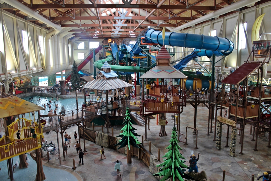 Great Wolf Lodge Goes Green