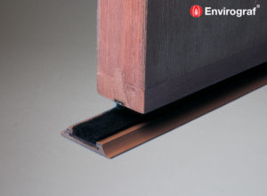 Domestic threshold door seals