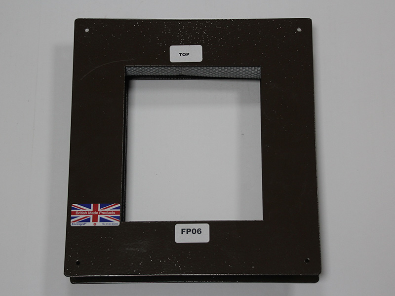 Animal door flap fireproof frame only   Envirograf