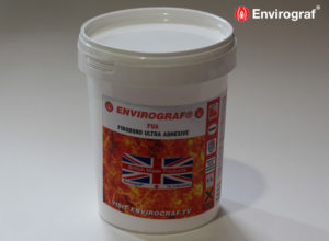 fire resistant adhesive for mineral wool