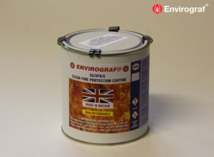 Fire retardant paint for timber substrates