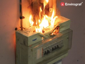 Consumer Unit Burning