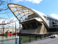 Canary Wharf Crossrail Station fire protection with intumescent coating