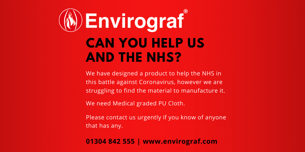 Help Envirograf to help the NHS