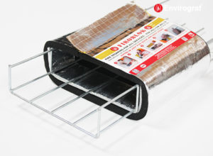Fire rated cable basket