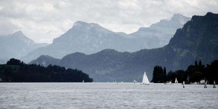 Lake Lucrne, Switzerland