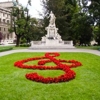 Mozart Memorial at Hofburg Palace, Vienna, Austria