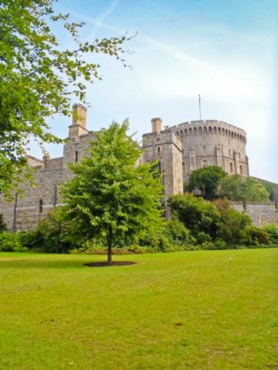 Windsor Castle Gardens, England