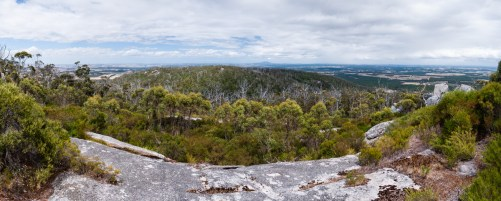 View from the Top of Castle Rock, Porongurup National Park