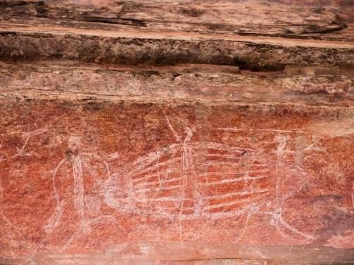 Rock Art at Ubirr, Kakadu National Park, Northern Territory