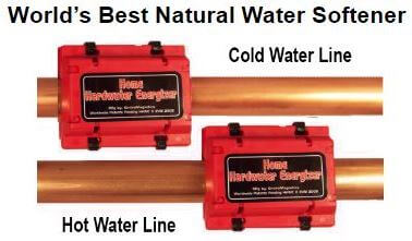 Water Softener use on a hot and cold water lines