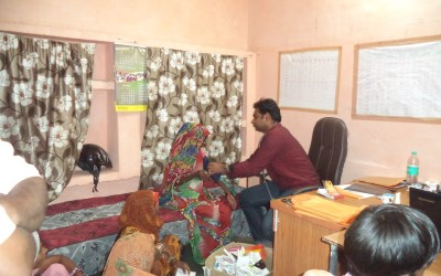 Medical Camp in Gohad, MP, October 2016