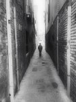 Boy in a Narrow Alley, Venice