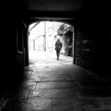 Through the Archway, Frome, 2013