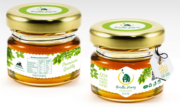 Jars of Gorilla Honey