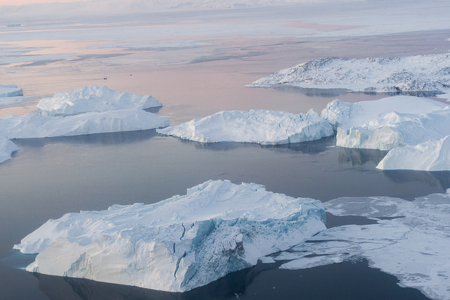 Greenland Glacier Melt Alters Currents Down to the Gulf Stream