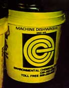 ECC Machine Dishwash