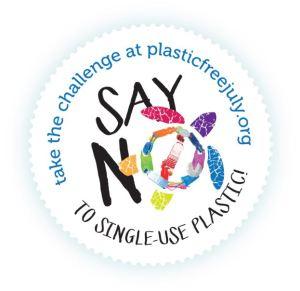 logo of plastic free july