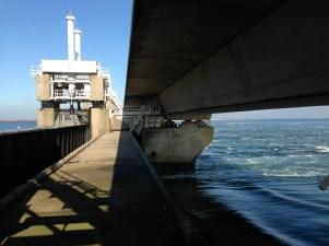 Barrage observation deck at Neeltje Jans (part 1 of 2).