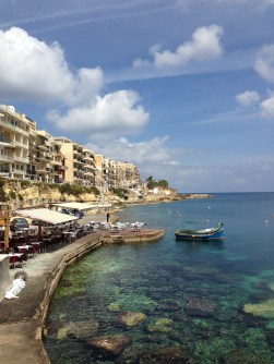 Marsalforn, Gozo. (View from our lunch spot.)