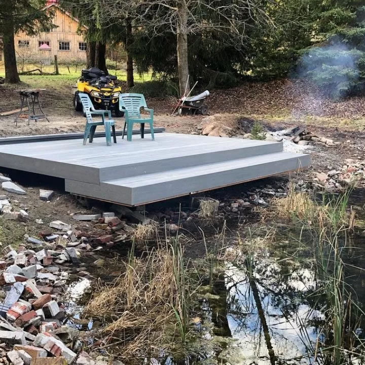 Pond Patio