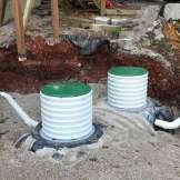 installing septic tank lid risers 1-2-2017