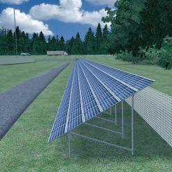 Oregon highway solar panels begin lighting the way