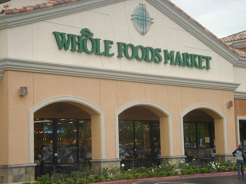 Whole Foods Markets provides loans to local organic producers