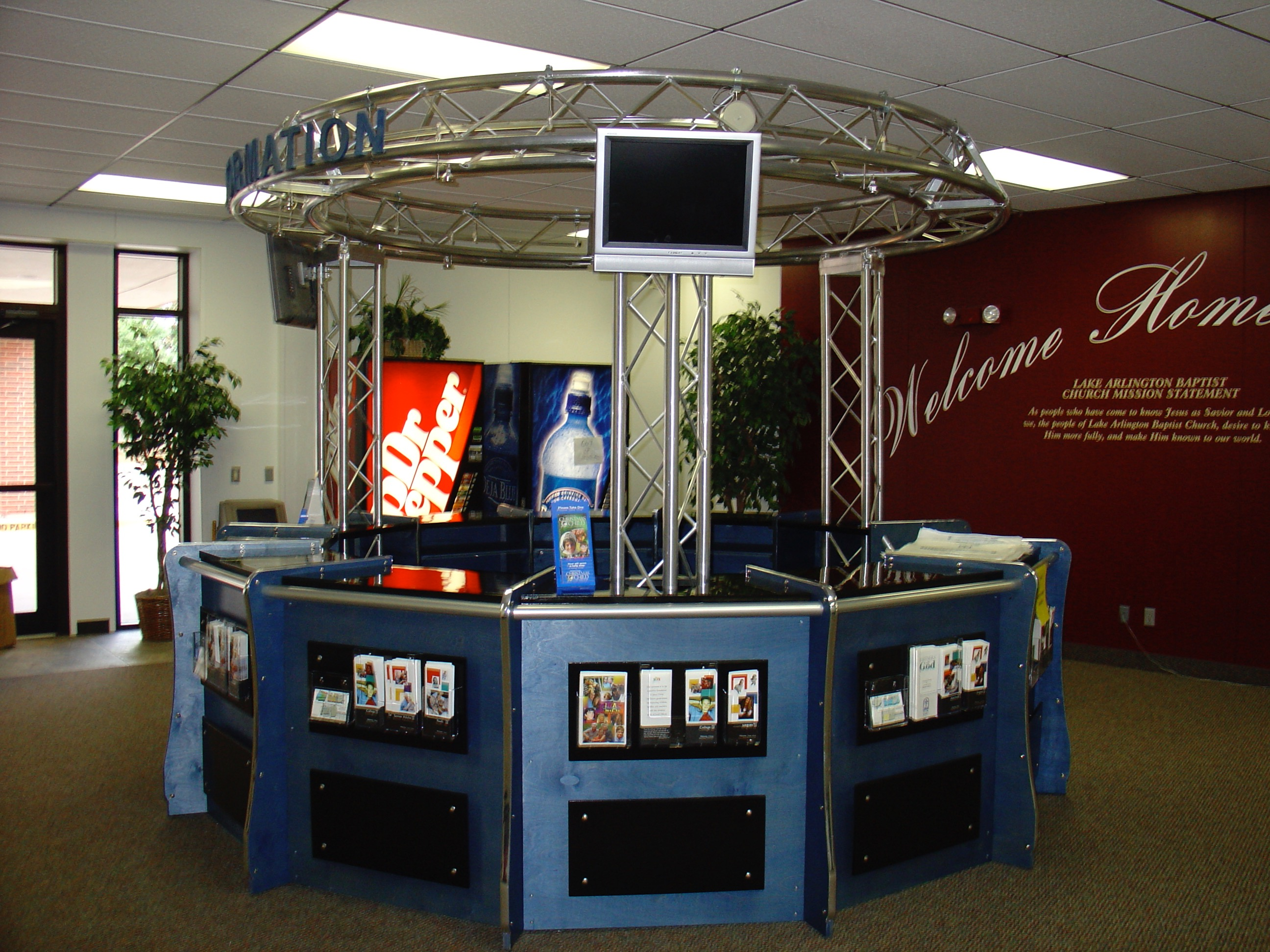 Envisionary Images  Custom Church Welcome Centers Retail
