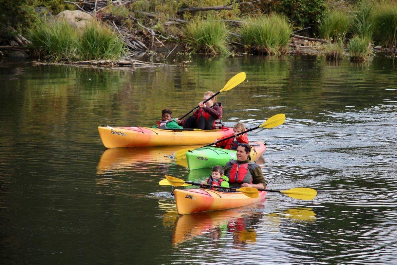 Kayaking Riverbend Park