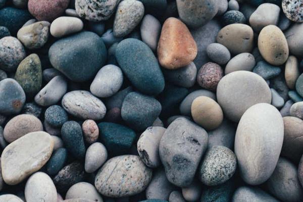Mindfulness image of pebbles