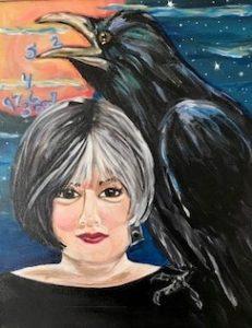 Raven Speaks Oracle Card