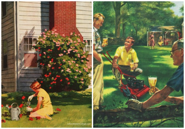 Ladies And Lawns Envisioning American Dream
