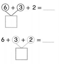 Envision Math Common Core Grade 1 Answer Key Topic 5 Work