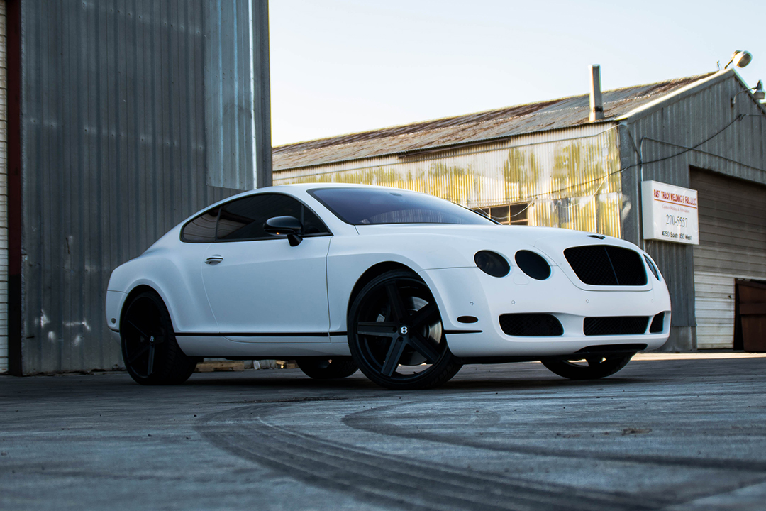 Satin White Bentley