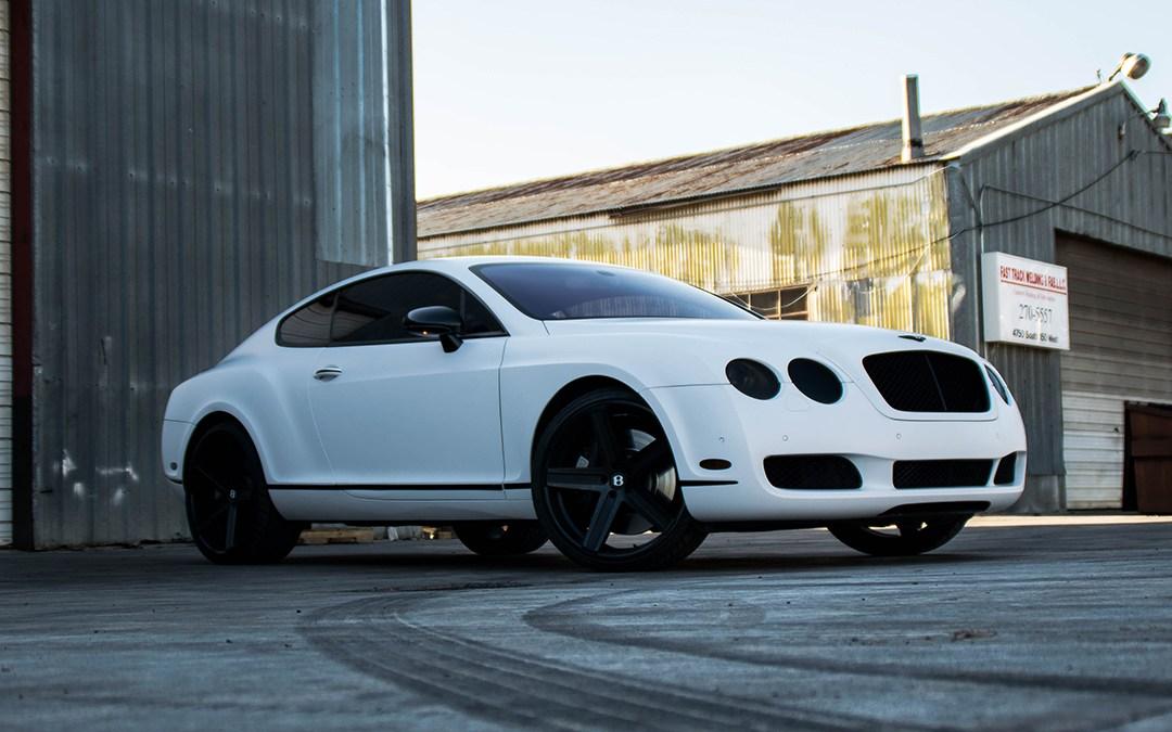 Satin White Bentley