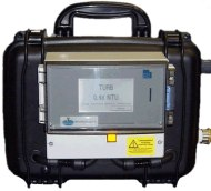 mains flushing portable turbidity