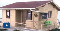 Primer prototipo funcional de Anfibia: viviendas flotantes